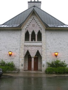 The Abbey-St-Benoit-du-Lac in Eastern Townships, Que offers separate guesthouses for men and women.